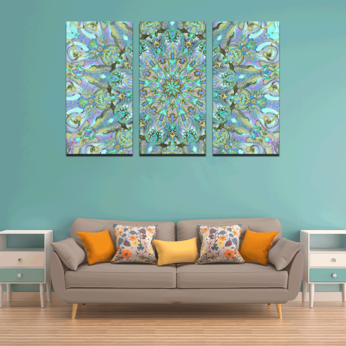 mandala 2 Canvas Wall Art X (3 pieces)