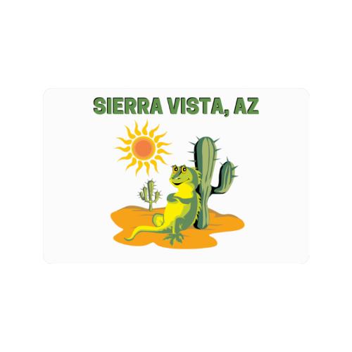 "Sierra Vista, Arizona Doormat 24""x16"""