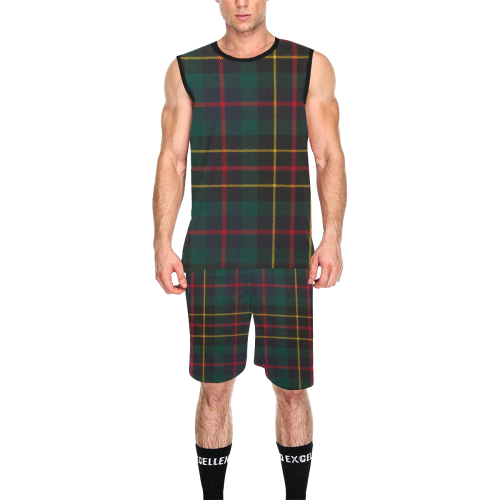 BRODIE HUNTING MODERN TARTAN All Over Print Basketball Uniform