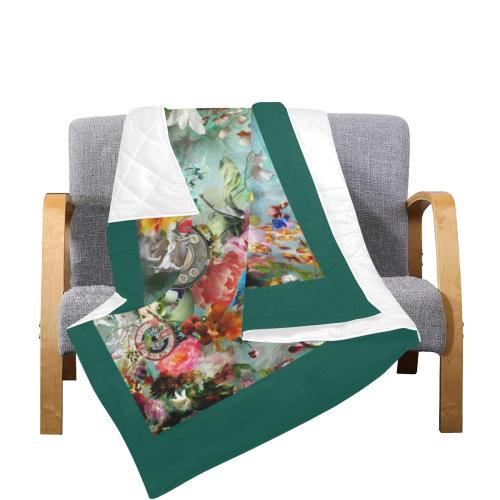 """The Secret Garden Quilt 70""""x80"""""""