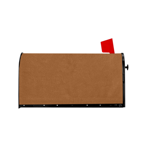 color saddle brown Mailbox Cover