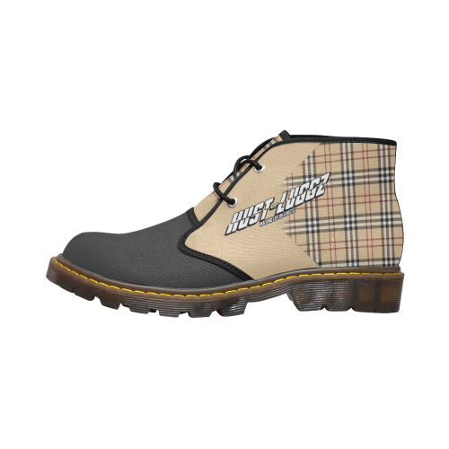 Burberry Hust-Luggz Men's Canvas Chukka Boots (Model 2402-1)