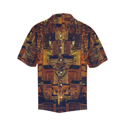 NYC LARGE Hawaiian Shirt (Model T58)