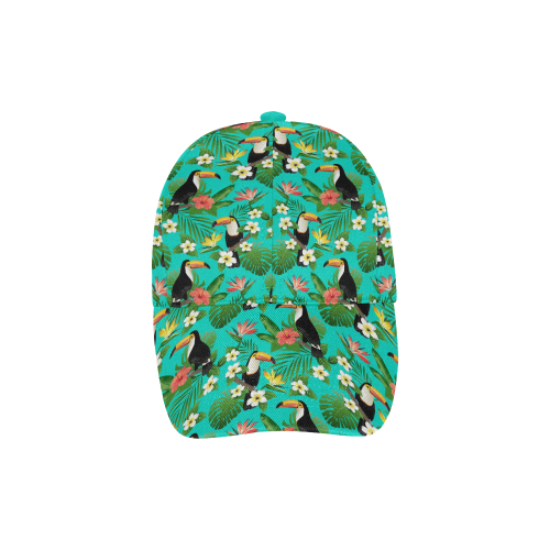 Tropical Summer Toucan Pattern All Over Print Dad Cap C (7-Pieces Customization)