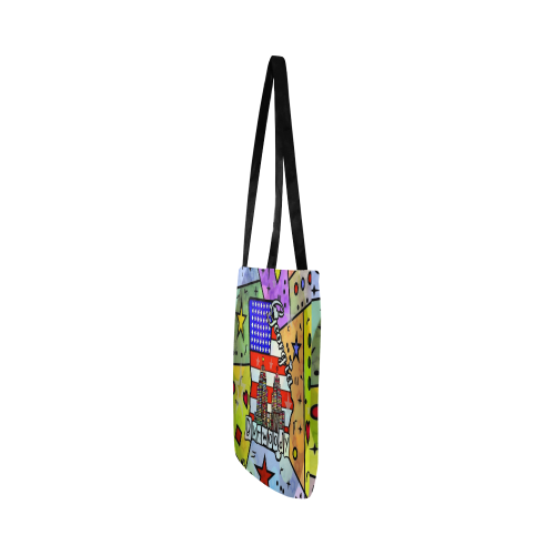 Dunwoody by Nico Bielow Reusable Shopping Bag Model 1660 (Two sides)