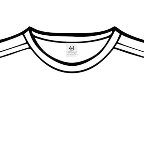 Tshirt Label Private Brand Tag on Tops (4cm X 5cm)