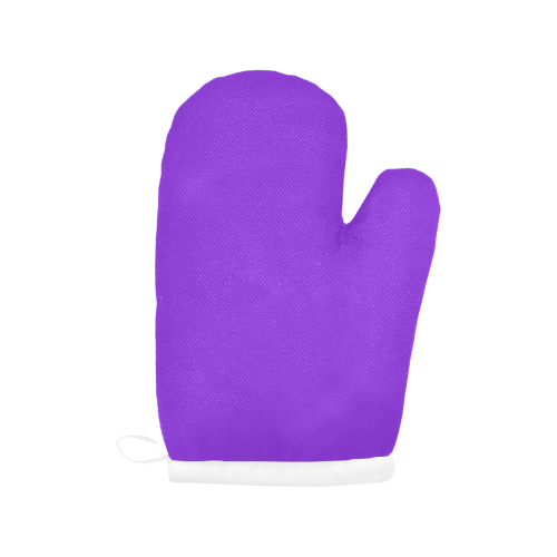 color blue violet Oven Mitt (Two Pieces)