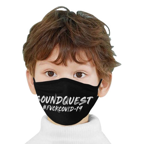 SoundQuest #FVCKCOVID-19 Face Mask - Mouth Mask