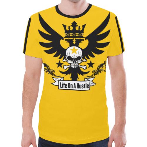 CRX Rebel New All Over Print T-shirt for Men/Large Size (Model T45)
