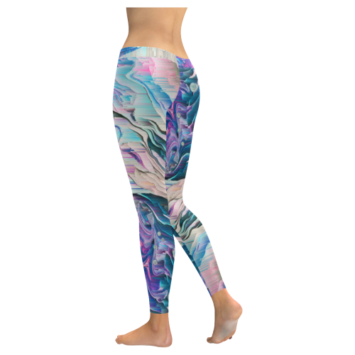 gattaca2 Low Rise Leggings (Invisible Stitch) (Model L05)