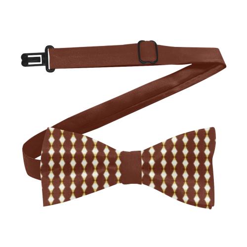African Cream Diamond Custom Bow Tie