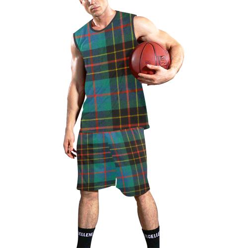 BRODIE HUNTING TARTAN All Over Print Basketball Uniform