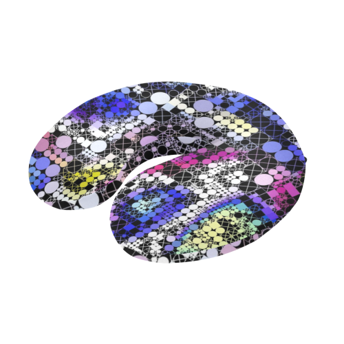funny mix of shapes  by JamColors U-Shape Travel Pillow