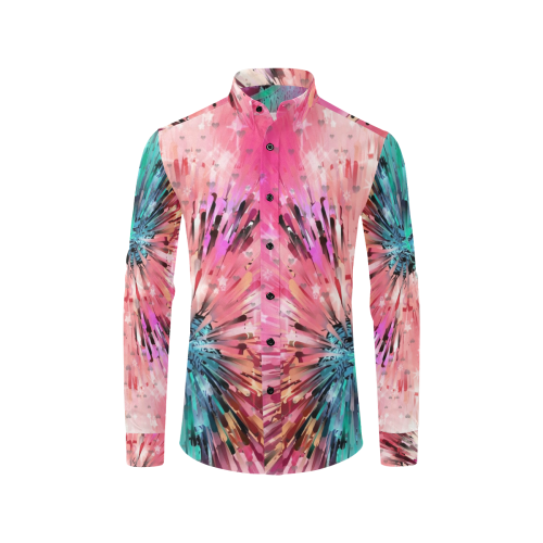Andy Maine 2019 by Nico Bielow Men's All Over Print Casual Dress Shirt (Model T61)