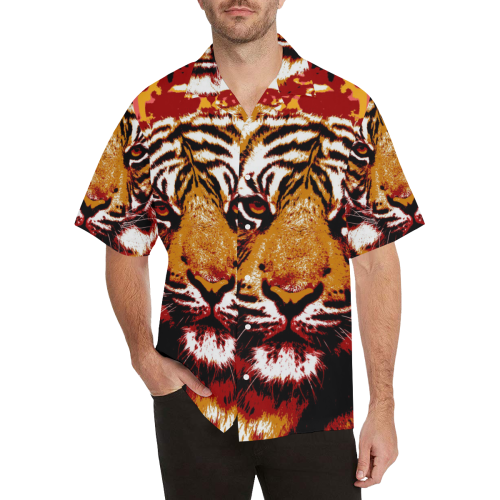 TIGER 13 Hawaiian Shirt (Model T58)