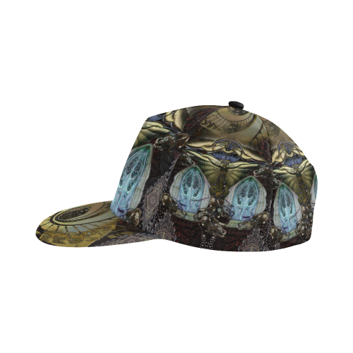 corinne c2 All Over Print Snapback Hat D