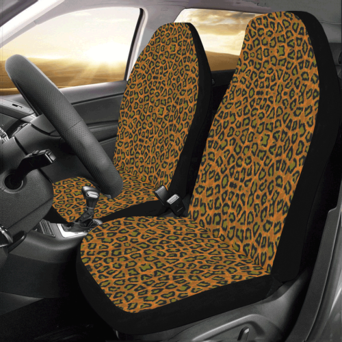 Lorelles Leopard 4k Car Seat Covers (Set of 2)