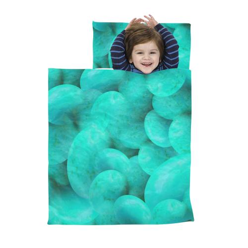 Robins Egg Blue Kids' Sleeping Bag