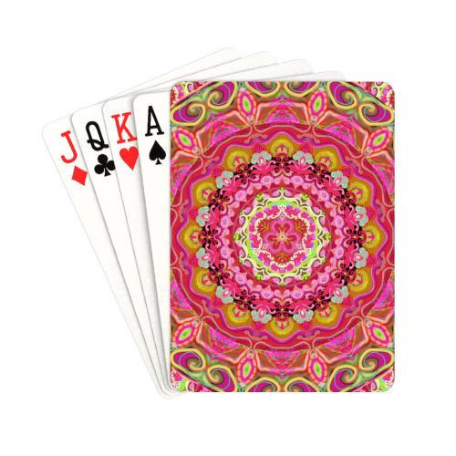 "russian mandala 21 Playing Cards 2.5""x3.5"""