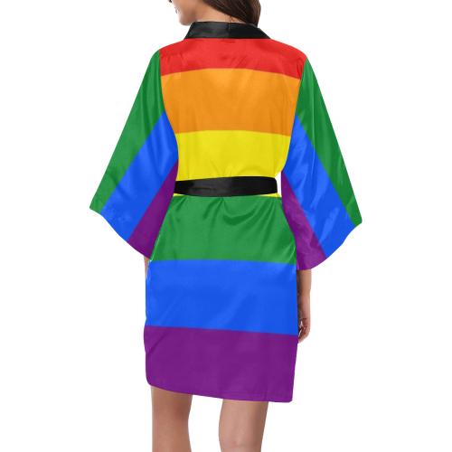 Rainbow Gay Pride Kimono Kimono Robe