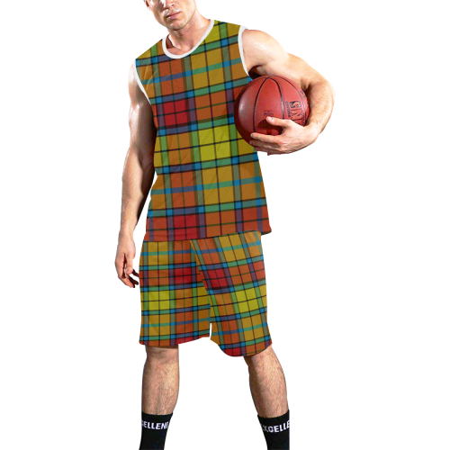 BUCHANAN TARTAN All Over Print Basketball Uniform