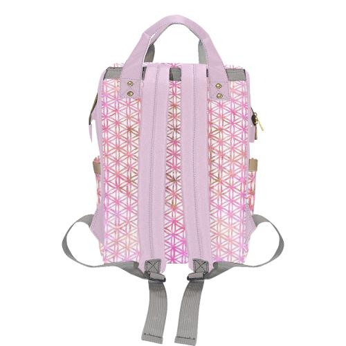 fleur de vie 8 Multi-Function Diaper Backpack (Model 1688)