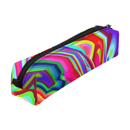 Hot hot Summer 7A by JamColors Pencil Pouch/Small (Model 1681)