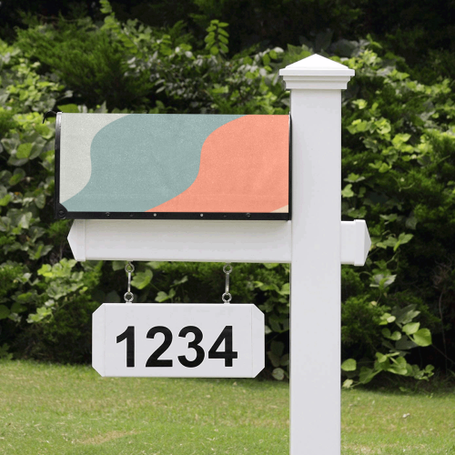 color patterns #pattern Mailbox Cover