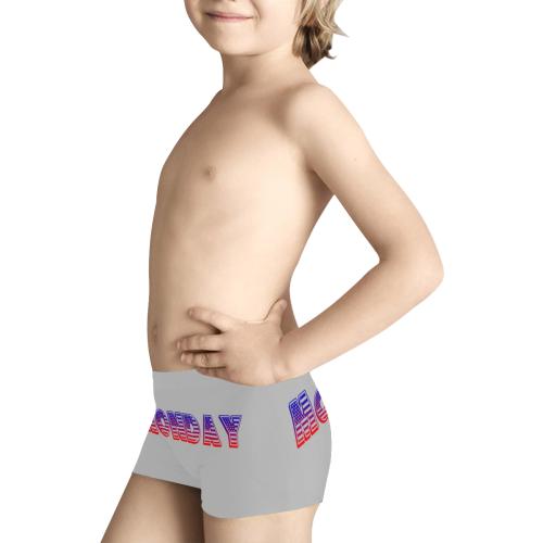 American  Monday Kids' All Over Print Boxer Briefs (Model L24)