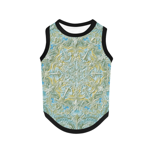 mandala oct 2016-10 All Over Print Pet Tank Top