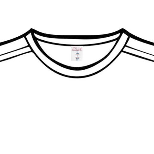 Stella Saksa Logo Private Brand Tag on Tops (4cm X 5cm)