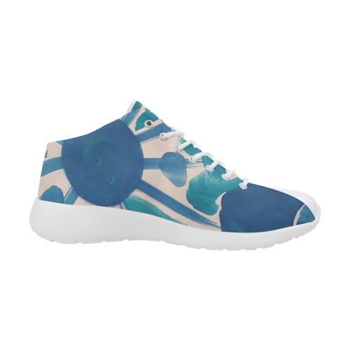 SERIES NOALIE WATERCOLOR BLUE SUN II Women's Basketball Training Shoes (Model 47502)