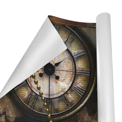 "Wonderful steampunk design Gift Wrapping Paper 58""x 23"" (2 Rolls)"