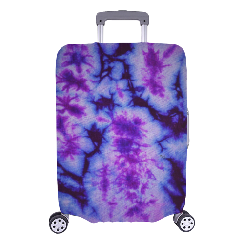 "tie dye statement Luggage Cover/Large 26""-28"""