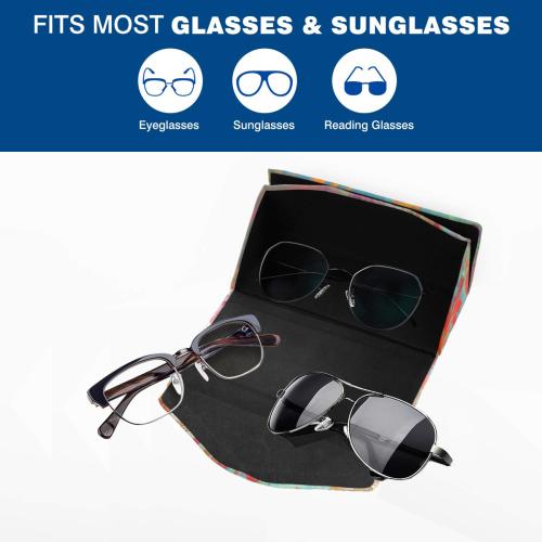 flowers #flowers #pattern Custom Foldable Glasses Case