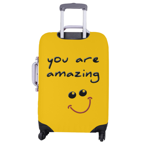 """you are amazing Luggage Cover/Large 26""""-28"""""""