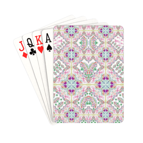 """sweet nature- pink Playing Cards 2.5""""x3.5"""""""