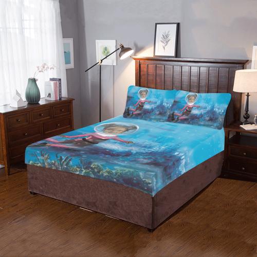 Atlantis Bed Set 3-Piece Bedding Set
