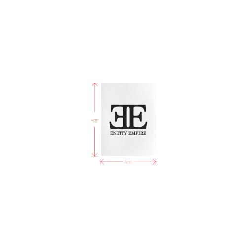 EntityEmpireLogoUmbrellaTag Private Brand Tag on Umbrella Ribs (3cm X 4cm)