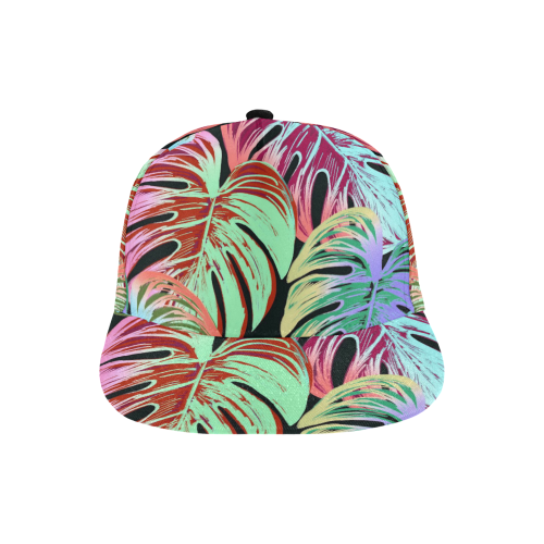 Pretty Leaves A by JamColors All Over Print Snapback Hat D