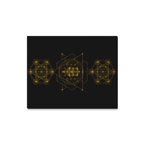 "Sacred Geometry Canvas Print 16""x20"""