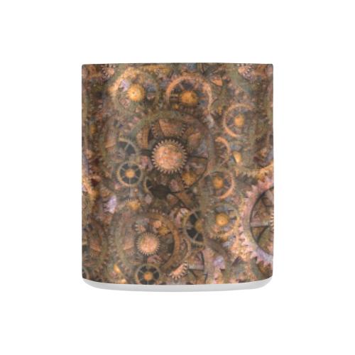 Steampunk Stainless Mug Classic Insulated Mug(10.3OZ)