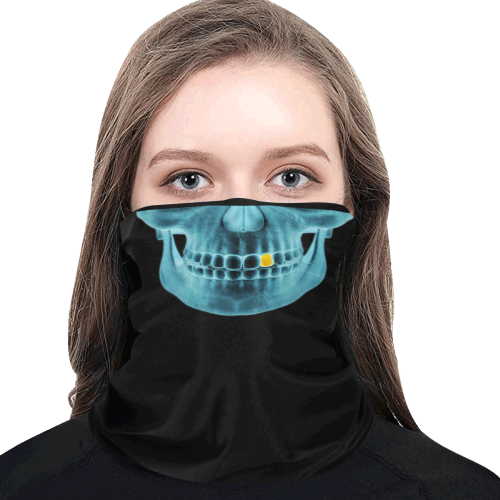 XRAY + Gold Tooth Multifunctional Dust-Proof Headwear