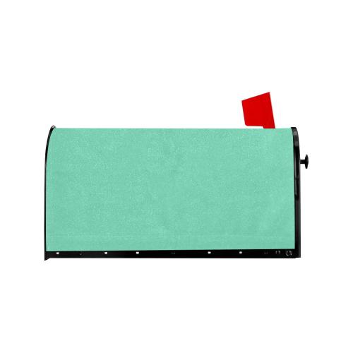 color medium aquamarine Mailbox Cover