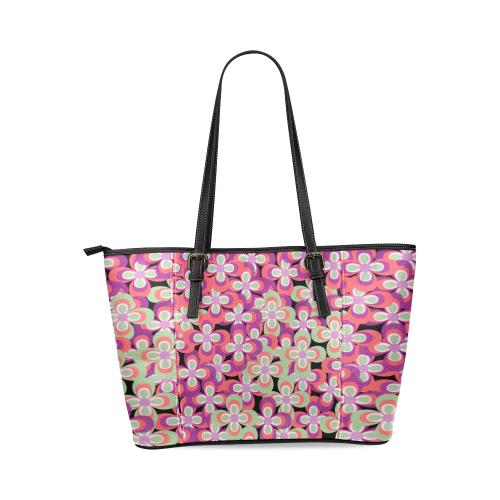 zappwaits k3 Leather Tote Bag/Small (Model 1640)