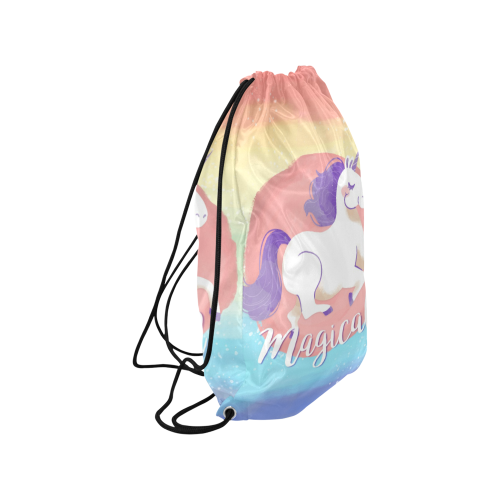 "138910-OT5FOG-352 Small Drawstring Bag Model 1604 (Twin Sides) 11""(W) * 17.7""(H)"