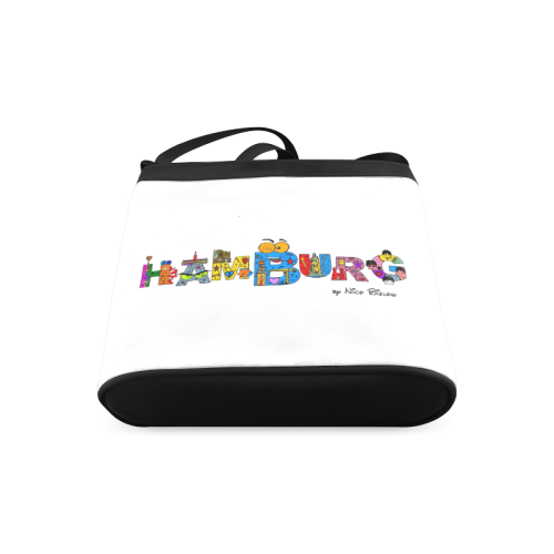 Hamburg Pop by Nico Bielow Crossbody Bags (Model 1613)