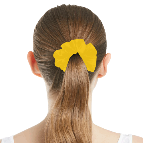color mango All Over Print Hair Scrunchie