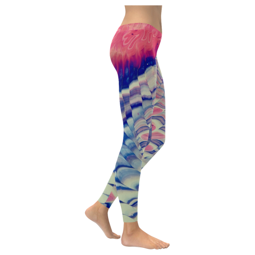 dorothy's whirlwind. Low Rise Leggings (Invisible Stitch) (Model L05)