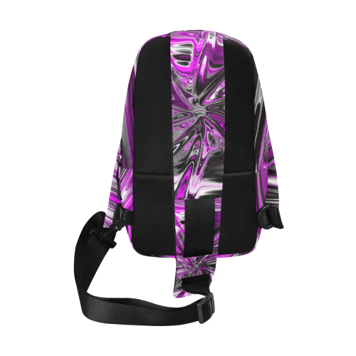 new fractal 717D by JamColors Chest Bag (Model 1678)